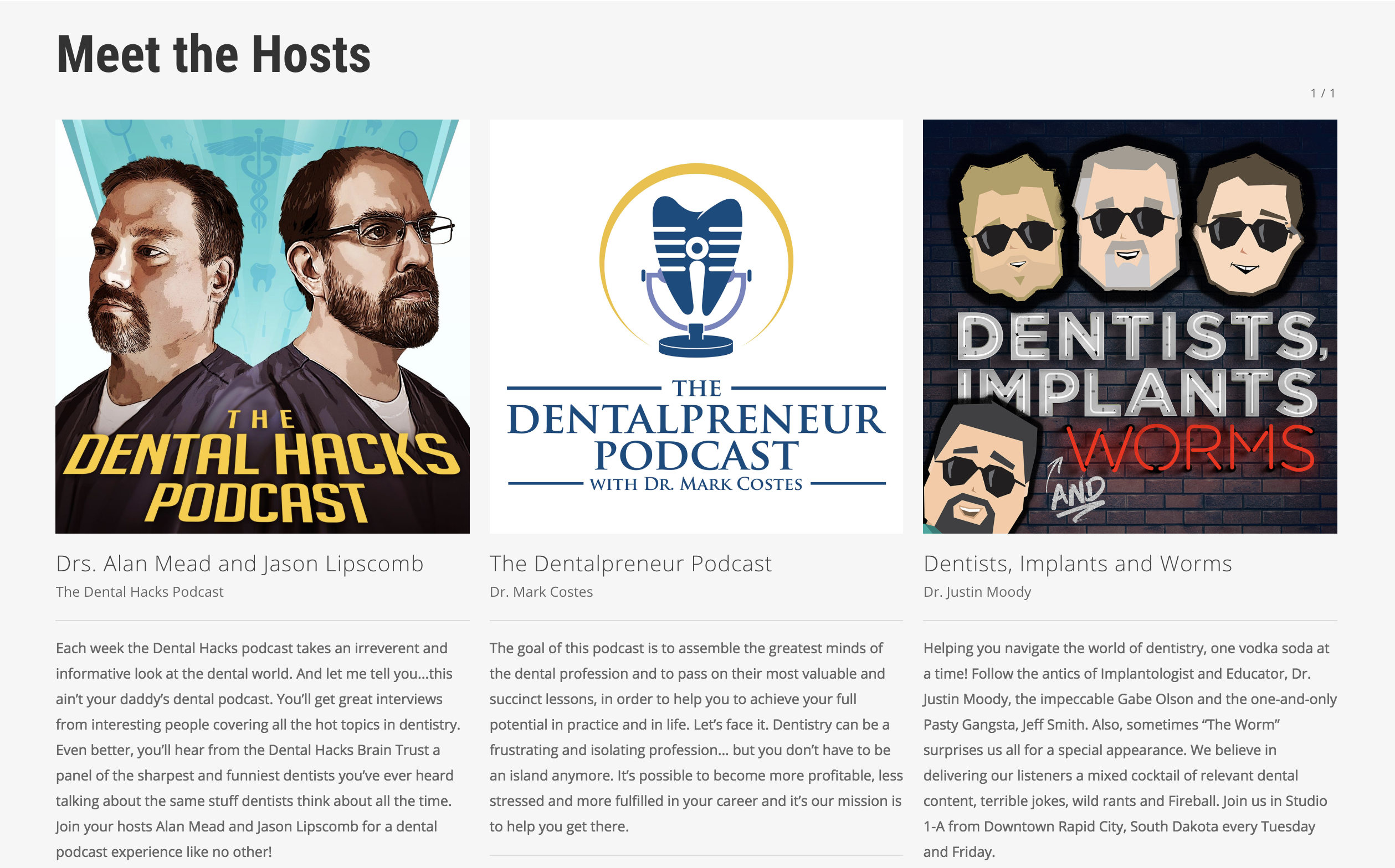 Voices of Dentistry Podcast Summit 2019